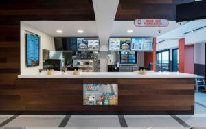 Proyecto para uno de los locales de Burger King